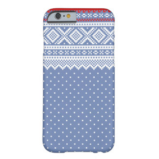 Mariusgenser Christmas Sweater Pattern Barely There iPhone 6 Case