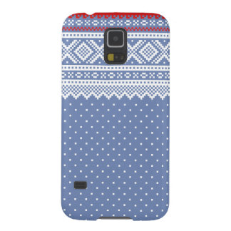 Mariusgenser Christmas Sweater Pattern Case For Galaxy S5