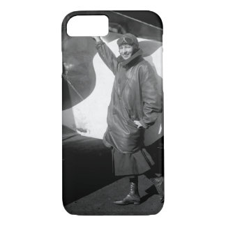 Marjorie Stinson, only woman_War image iPhone 7 Case
