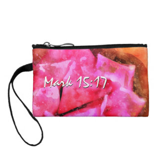 Mark 15-17 A Crown Of Thorns On The Head Coin Purse