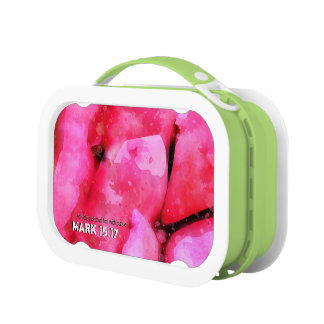 Mark 15-17 A Crown Of Thorns On The Head Lunch Box