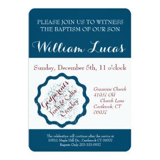 Mark Baptism Invitation