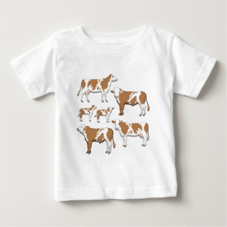 Mark cattle selection baby T-Shirt