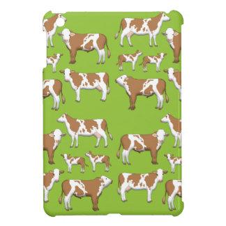 Mark cattle selection iPad mini cover