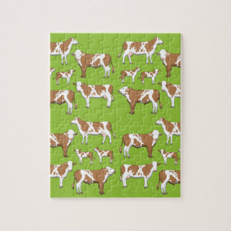 Mark cattle selection jigsaw puzzle