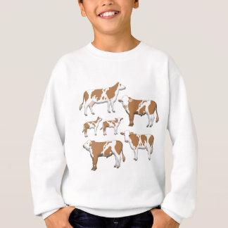 Mark cattle selection sweatshirt