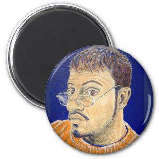 Mark Edward Westerfield Self Portrait ... Magnet