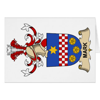 Mark Family Crest Card