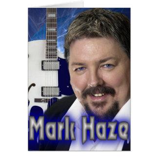 mark haze promo greeting card