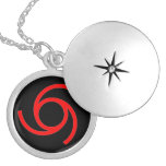 MARK of the DEVIL Round Locket Necklace