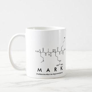 Mark peptide name mug