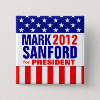 Mark Sanford 2 Inch Square Button