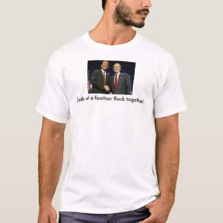 mark-sanford-with-bush, Birds of a feather floc... T-Shirt