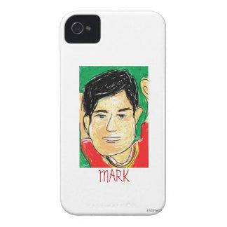 Mark Sketch iPhone 4 Case-Mate Case