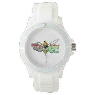 Mark Trimmier Band silicone watch for women