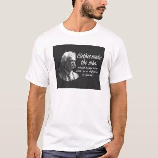 Mark Twain: Clothes Make the Man T-Shirt