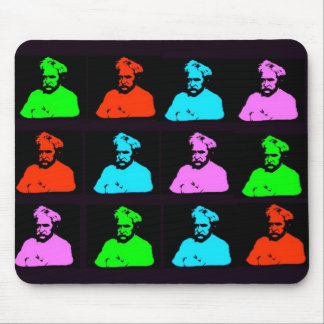 Mark Twain Collage Mouse Pad