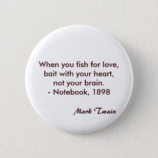 Mark Twain Quote 2 Inch Round Button