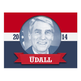 MARK UDALL CAMPAIGN POST CARD