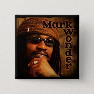 "Mark Wonder 2"" Square Badge 2 Inch Square Button"