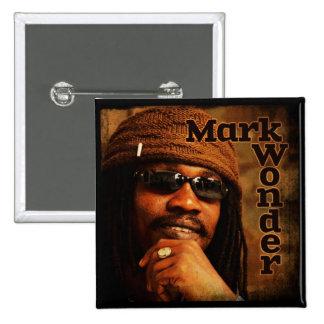 """Mark Wonder 2"""" Square Badge 2 Inch Square Button"""