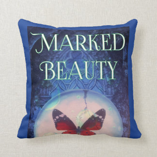 Marked Beauty Designer Throw Pillow
