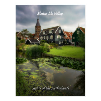 Marken Village, Sights of the Netherlands Postcard