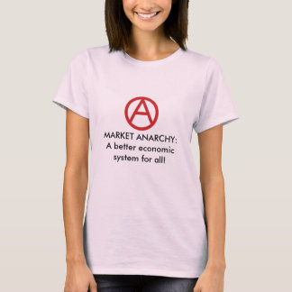 Market Anarchy Better solution Womens Babydoll T-Shirt