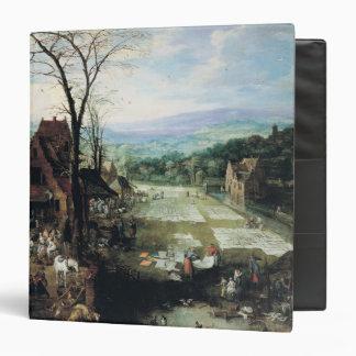 Market and Bleaching Ground, 1620-22 Binder