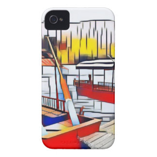 Market Boats Case-Mate iPhone 4 Cases