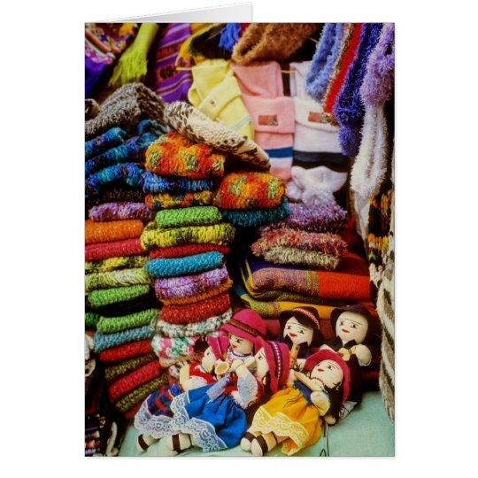 Market Dolls Card