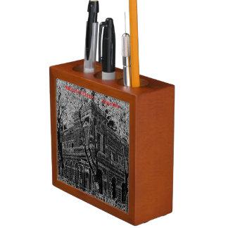 Market of Liniers (Pencil design) Desk Organizer