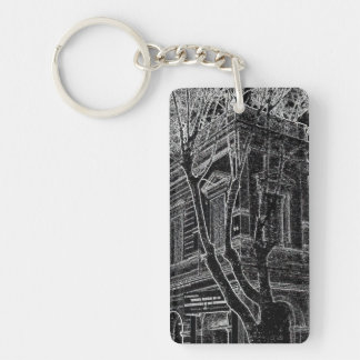 Market of Liniers (Pencil design) Keychain