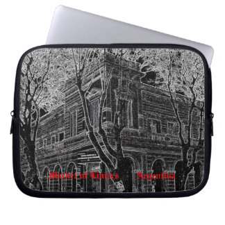 Market of Liniers (Pencil design) Laptop Sleeve