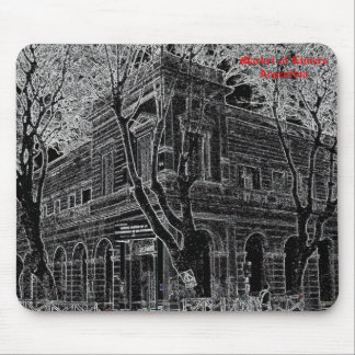 Market of Liniers (Pencil design) Mouse Pad