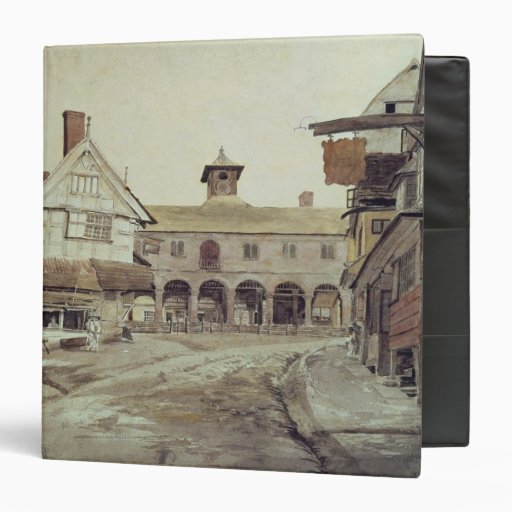 Market Place, Hereford, 1803 3 Ring Binder