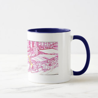 Market place mug