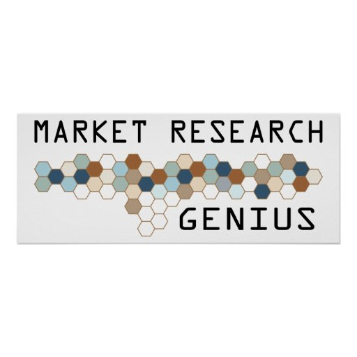 Market Research Genius Poster