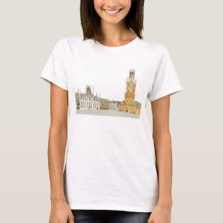 Market Square. Bruges Belgium T-Shirt