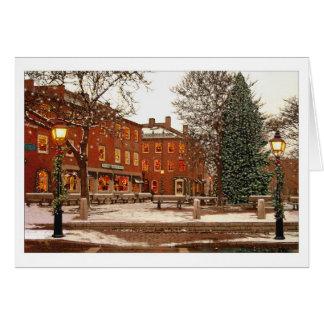 Market Square Christmas card