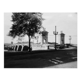 Market St. Bridge Wilkes-Barre Pa. Postcard