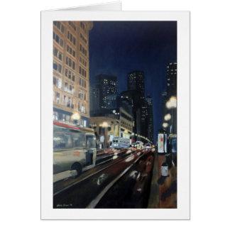 """Market Street"" by Trina Chow Card"