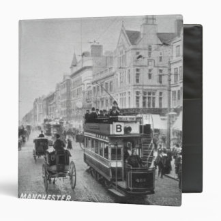 Market Street, Manchester, c.1910 Vinyl Binder