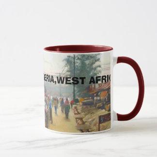 Market Village, LAGOS STATE,NIGERIA,WEST AFRICA Mug
