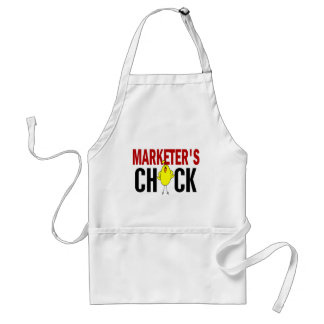 MARKETER'S CHICK APRONS