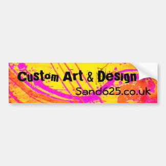 Marketing Bumper sticker template