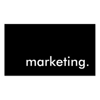 marketing. business card template
