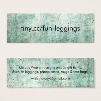 Marketing cards with tiny.cc link
