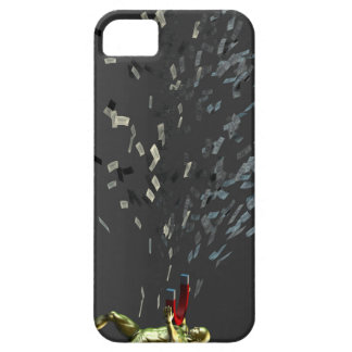 Marketing Concept with Businessman iPhone 5 Cover