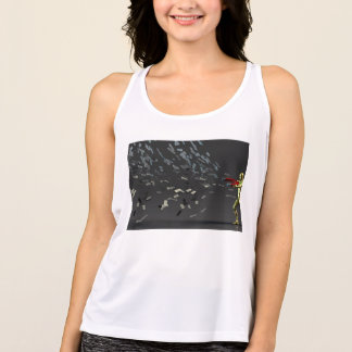 Marketing Concept with Businessman Tank Top